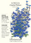 Lobelia Crystal Palace HEIRLOOM Seeds