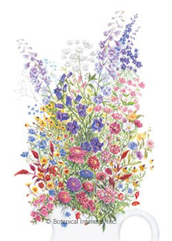 Flower Mix Grandmother's Cut Flower Garden Seeds