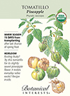 Tomatillo Pineapple Organic HEIRLOOM Seeds