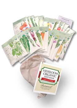 Heirloom Organic Seed Bank Collection