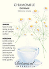 Chamomile German HEIRLOOM Seeds