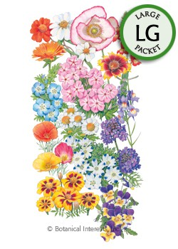 Flower Mix Fabulous Fireworks Seeds (LG)