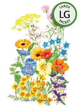 Flower Mix Edible Beauties Seeds (LG)