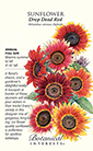 Sunflower Drop Dead Red Seeds (LG)