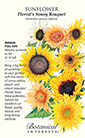 Sunflower Florist's Sunny Bouquet Seeds (LG)